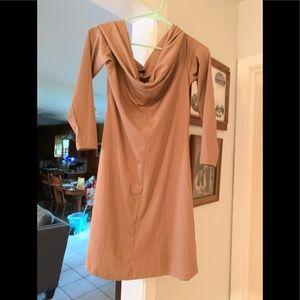H&M cowl neck dress (divided)